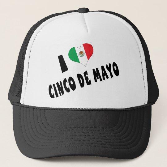 I Love Cinco de Mayo Trucker Hat