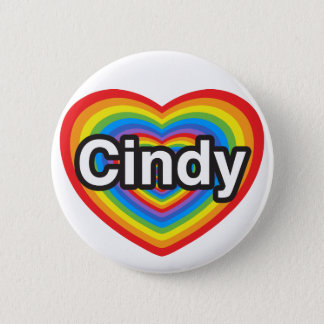 I love Cindy. I love you Cindy. Heart Button