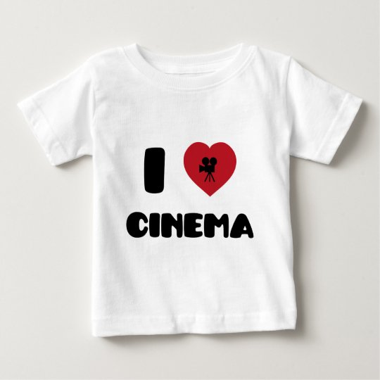 I Love Cinema Baby T-Shirt