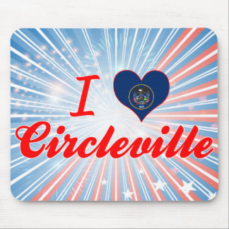 I Love Circleville, Utah Mouse Pad