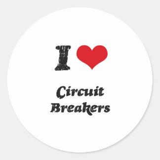 I love Circuit Breakers Stickers