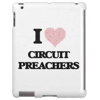 I love Circuit Preachers (Heart made from words)