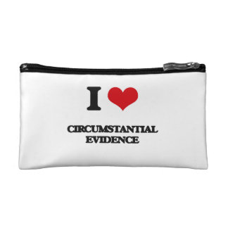 I love Circumstantial Evidence Makeup Bags
