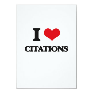 I love Citations Cards