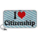 I love Citizenship Mini Speaker