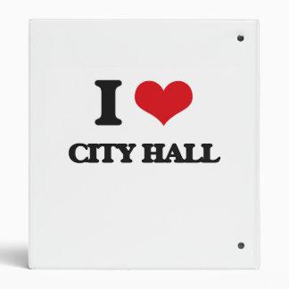 I love City Hall Vinyl Binder
