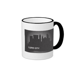 I Love City Mugs