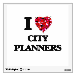 I love City Planners Wall Decal