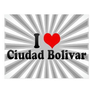 I Love Ciudad Bolivar, Venezuela Postcard