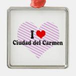 I Love Ciudad del Carmen, México Ornamento De Reyes Magos