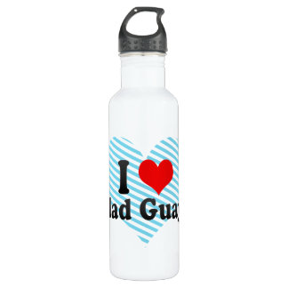 I Love Ciudad Guayana, Venezuela 24oz Water Bottle