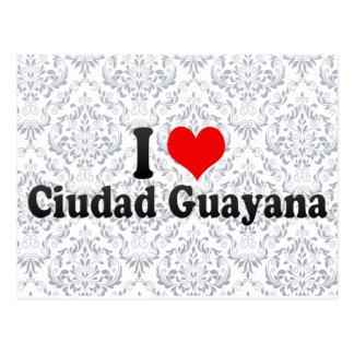 I Love Ciudad Guayana, Venezuela Postcard