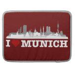 I Love ciudad Muniquesa horizonte - MacBook Pro Sl Fundas Para Macbooks