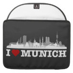 I Love ciudad Muniquesa horizonte - MacBook Pro Sl Funda Macbook Pro