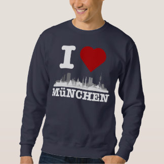 I Love ciudad Muniquesa horizonte - Shirt, jerséis Jersey