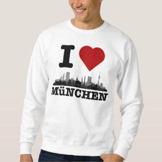 I Love ciudad Muniquesa horizonte - Shirt, jerséis Suéter