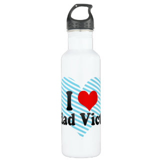 I Love Ciudad Victoria, Mexico Stainless Steel Water Bottle