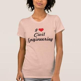 I love Civil Engineering Shirts