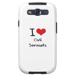 I love Civil Servants Samsung Galaxy SIII Cover