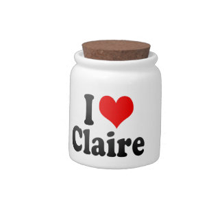 I love Claire Candy Jars