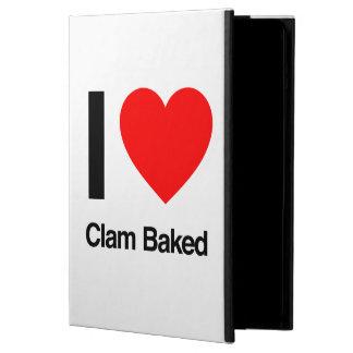 i love clam baked iPad air cases