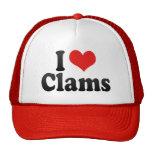 I Love Clams Trucker Hat