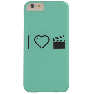 I Love Clapperboards Barely There iPhone 6 Plus Case