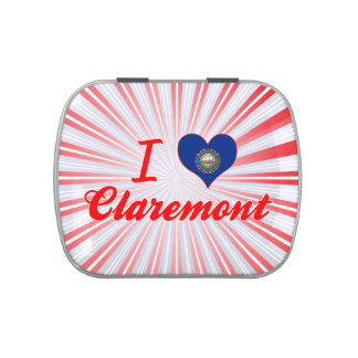 I Love Claremont, New Hampshire Candy Tins
