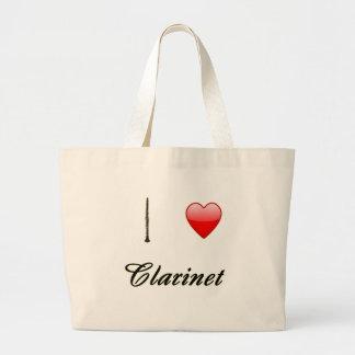 I Love Clarinet Bags