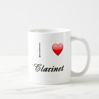 I Love Clarinet Mugs