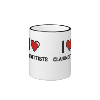 I love Clarinettists Ringer Coffee Mug