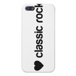 I Love Classic Rock Case For iPhone 5
