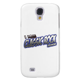 I Love CLASSIC ROCK music Samsung Galaxy S4 Cover