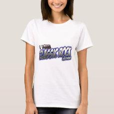 I Love CLASSIC ROCK music T-Shirt