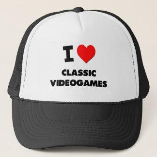 I Love Classic Videogames Trucker Hat