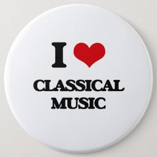I Love CLASSICAL MUSIC Button