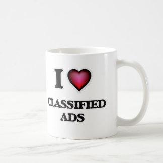 I love Classified Ads Coffee Mug