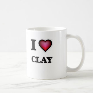 I love Clay Coffee Mug