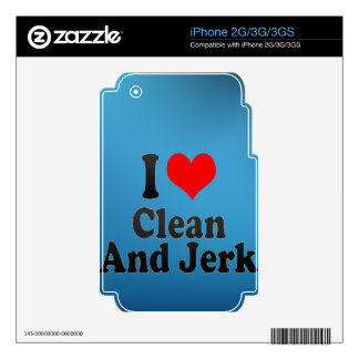 I love Clean And Jerk Skin For The iPhone 3