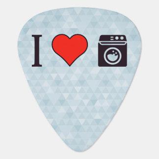 I Love Clean Laundry Guitar Pick