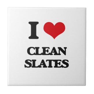 I love Clean Slates Ceramic Tile