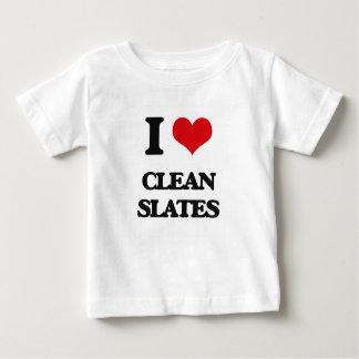 I love Clean Slates Tshirts