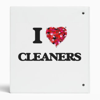 I love Cleaners 3 Ring Binders