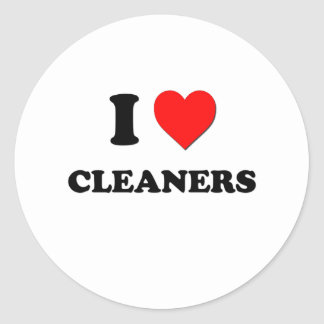 I love Cleaners Sticker