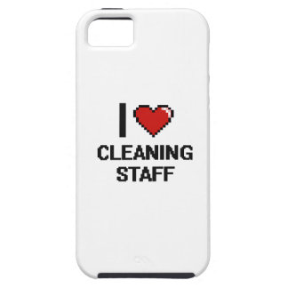 I love Cleaning Staff iPhone 5 Cases