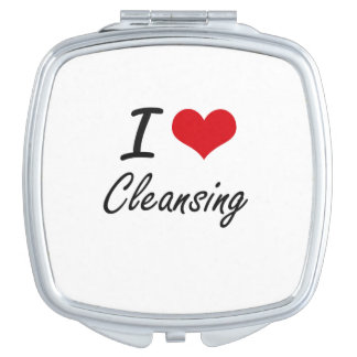 I love Cleansing Artistic Design Mirror For Makeup