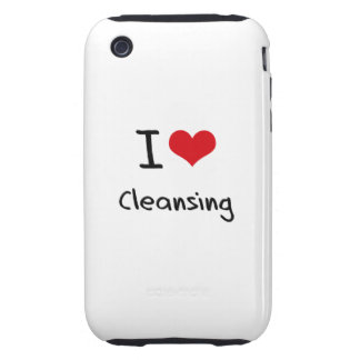 I love Cleansing Tough iPhone 3 Covers