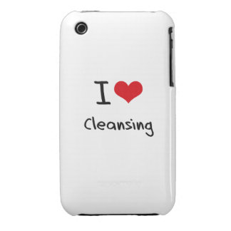 I love Cleansing iPhone 3 Cover