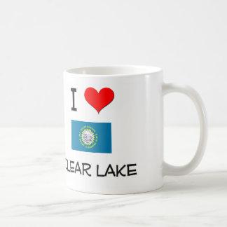 I Love Clear Lake South Dakota Coffee Mug