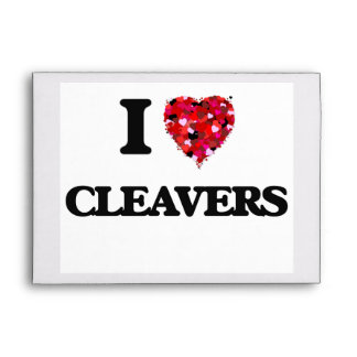 I love Cleavers Envelope